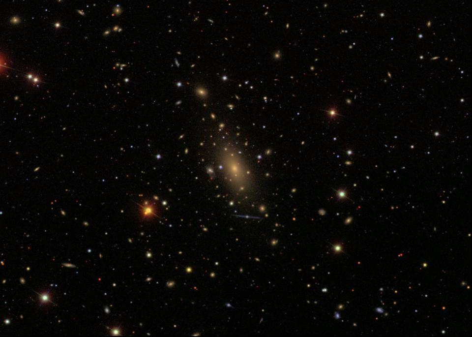 IC 1101 in Abell 2029, Sloan Digital Sky Survey (SDSS)