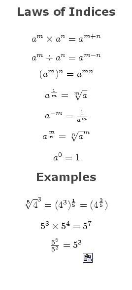 http://quantbasics.blogspot.com/2010/04/indices-and-surds.html