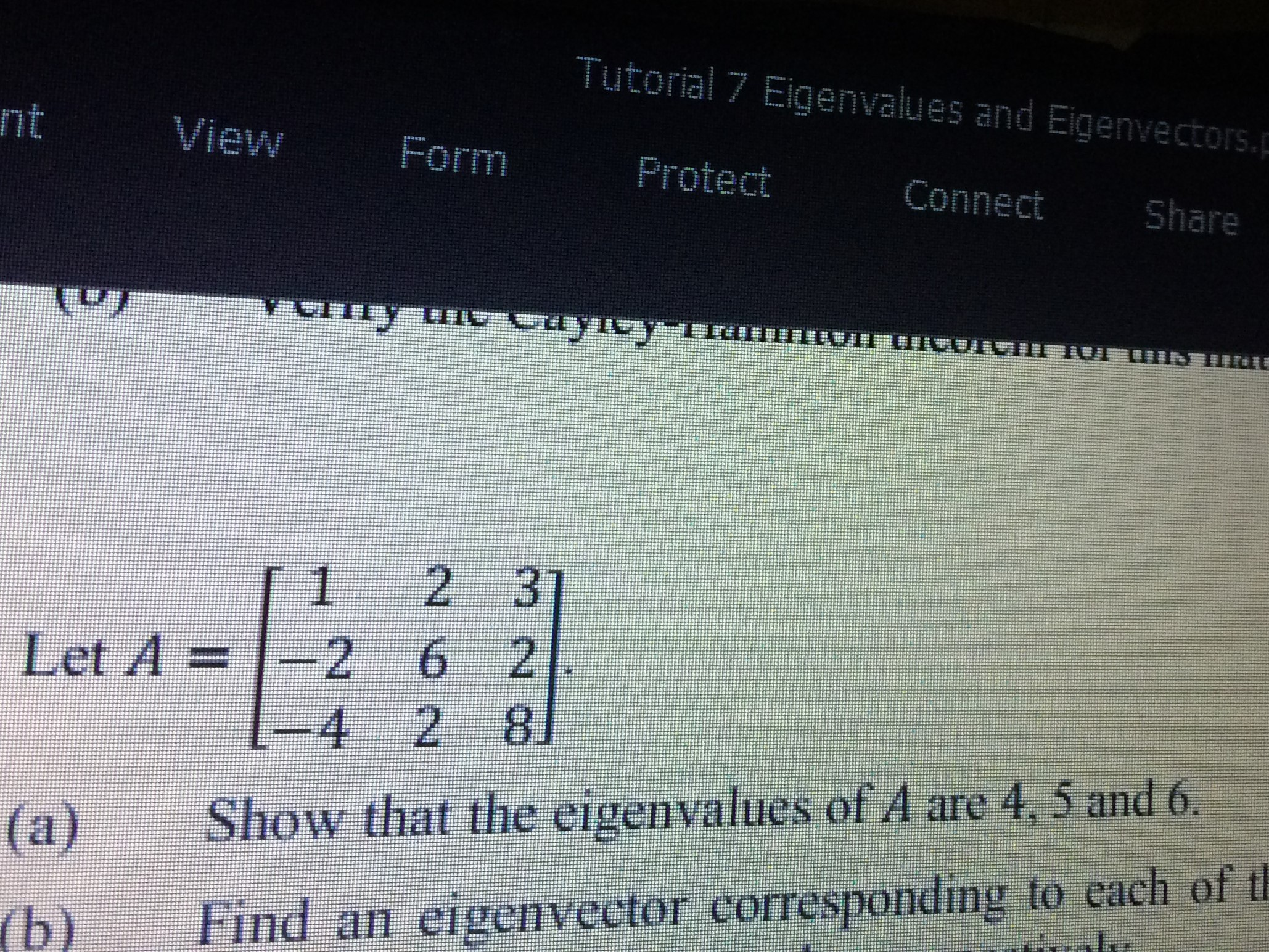 Can Anyone Please Help Me Solve This Question Part A ? I