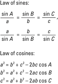 http://www.dummies.com/education/math/trigonometry/laws-of-sines-and-cosines/