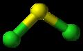 http://en.wikipedia.org/wiki/Sulfur_dichloride