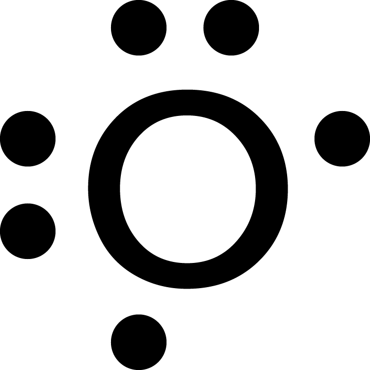 What is the electron dot diagram for an oxygen atom?   SocraticSocratic
