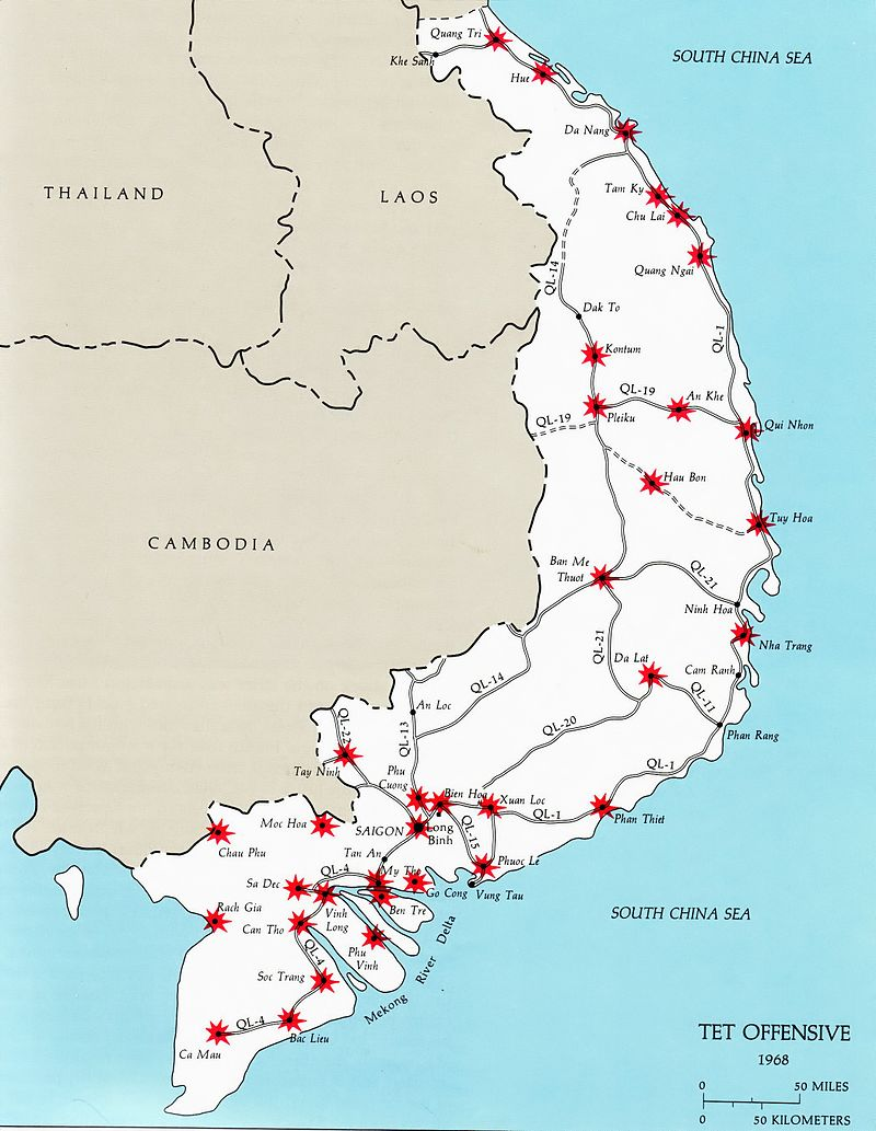 What Was The 1968 Offensive Launched By The North Vietnamese Against The South Vietnamese Called Socratic