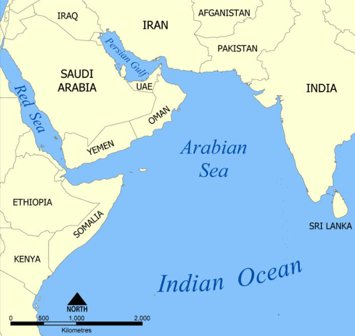 https://en.wikipedia.org/wiki/Arabian_Sea