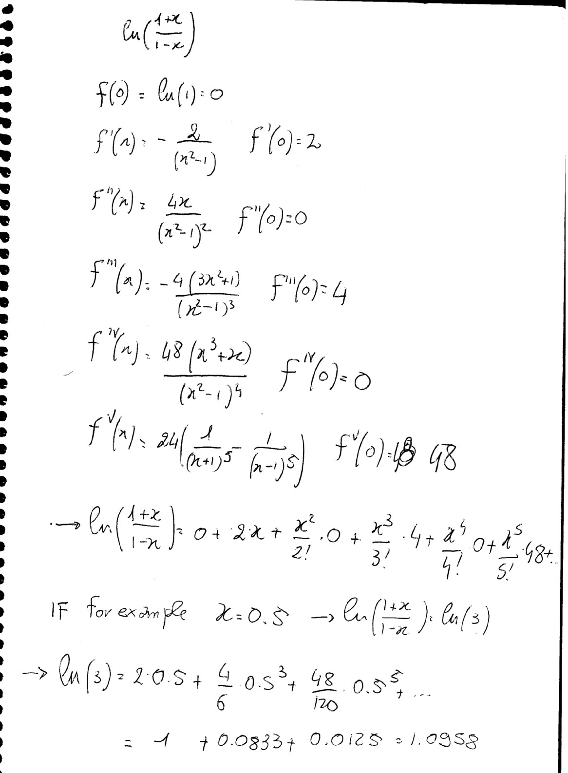 How Do You Find The Maclaurin Series For Ln 1 X 1 X Socratic