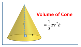 http://www.onlinemathlearning.com/volume-cone.html