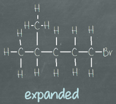 ChemSimplified.com - Expanded structural formula