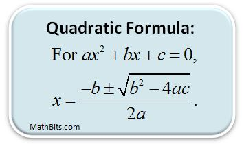 https://mathbitsnotebook.com/Algebra1/Quadratics/QDquadform.html