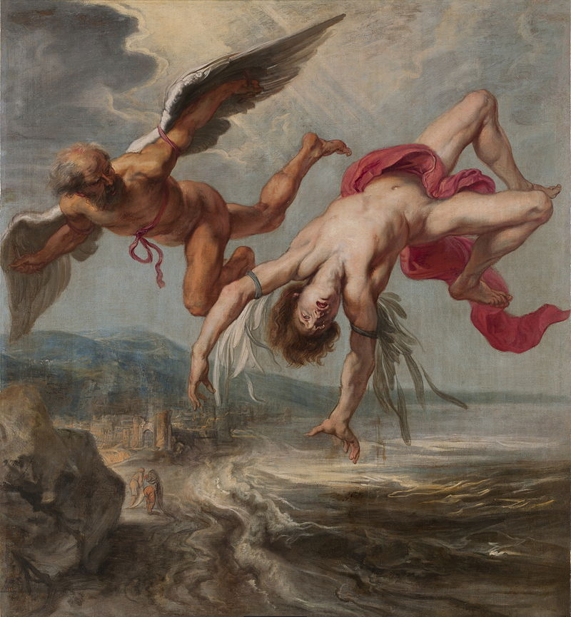 Jacob Peter Gowy's The Flight of Icarus.
