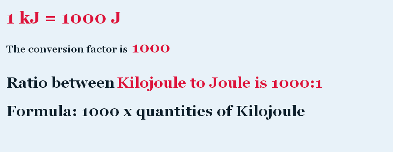 http://converters360.com/energy/kilojoule-to-joule-conversion.htm