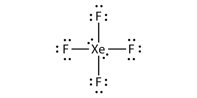 How Do You Draw The Lewis Structure For Xef 4 Socratic