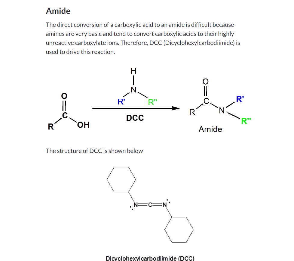 https://www.khanacademy.org/test-prep/mcat/chemical-processes/carboxylic-acids/a/carboxylic-acid-reactions-overview