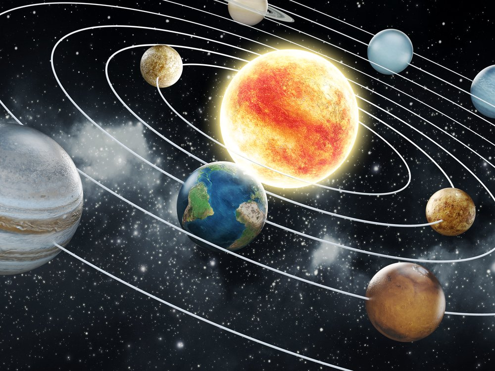 Our Solar System, from another perspective