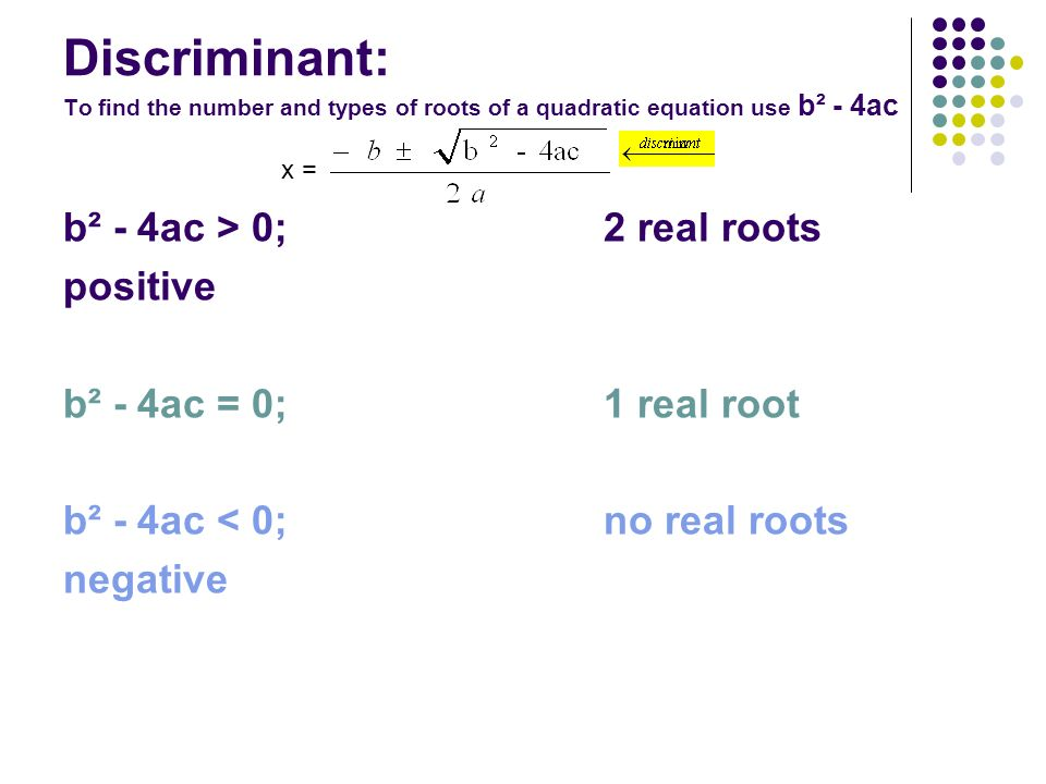 what is the discriminant of 4x 2 2x 1 0 and what does that mean socratic what is the discriminant of 4x 2 2x 1 0